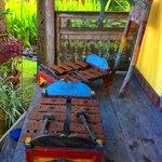 Gamelan on our Veranda