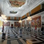 The Royal Reception Rooms - Showing the history of Denmark
