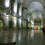 В центральном холле музея