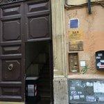 Entrance of La Habana from the street