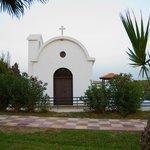 Церквушка на территории отеля