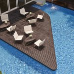 Swimming Pool area, Pool Bar and Deck