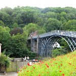 Red Poppies Leads to Iron Bridge- Photo Courtesy Paul Rees- July 2014