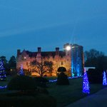 Nearing Christmas at Hever Castle