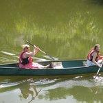 Random Photo Of  Couple Enjoying Canoeing Up the River Severn-Courtesy-Paul Rees 2014