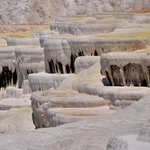 Huge travertine formation, Pamukkale, Turkey