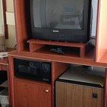 Older furniture and broken remote