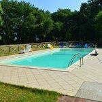 la meravigliosa piscina
