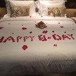 Happy Birthday @ Jumeirah Etihad Towers