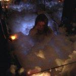 jacuzzi foamy bath :-D :-D