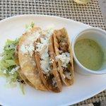 Pelicano's Governor's Shrimp Tacos