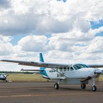 Aviair's Cessna 208 Turboprop aircraft prior to departure  from Kununurra