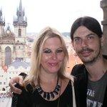 Prague visit : Top of Astronomical clock tower