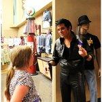 Elvis (Dean Z) talking to my daughter about Elvis