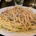 The Spaghetti Carbonara!