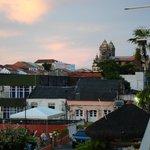 le camere si affacciamo su un panorama della città vecchia.foto cecilia polidori