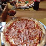 Margherita (129,-CZK) and Cotto (159,-CZK) Pizza