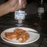 Masala Shrimps with Beer