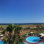 Panoramic view from the hotel
