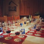 Birthday Wine Tasting Table