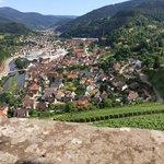 Schloss Eberstein - Platanenterasse