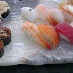 Ración de sushi