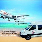 transporte gratuito playa, Torremolinos y aeropuerto