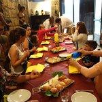 Breakfast at Pasticceria Adriana in Orvieto