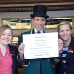 Katie, Hettie and a very handsome chap in his top hat at The Ruebens!  Awesome team at a beautif