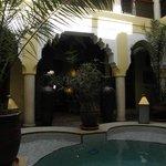 piscine du riad lena