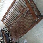 Broken Chair On Balcony