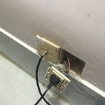 Broken Electrical Socket