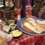 il piatto di formaggi