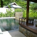 private pool villa