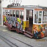 Asansöre giden tramvay