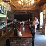 Wine tasting cellar at La Bourgonge