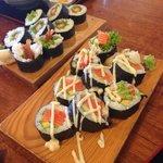 so mush sushi :)