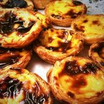 Pastel de nata at the Portuguese Grill House