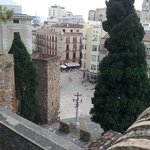 Malaga City from walls