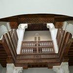 Inside Ben Youssef Madrasa