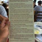 Ecco il menu da furto!!!