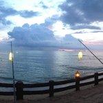 coucher de soleil (koh phi phi au loin)