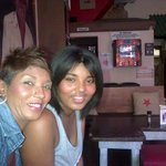 Me and my daughter Kiana having lunch @ Mojito