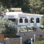 one of the lovely tavernas next door