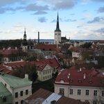 Beautiful view of Tallinn