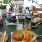 Frühstück (english, continental, jamaican...pancakes....)