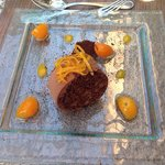 Chocolate jafa desert