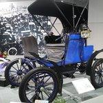 豐田產業技術紀念館-汽車館裡的某輛車