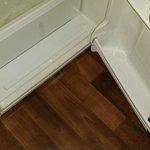 Leaks from fridge