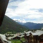 Vista dal nostro balconcino